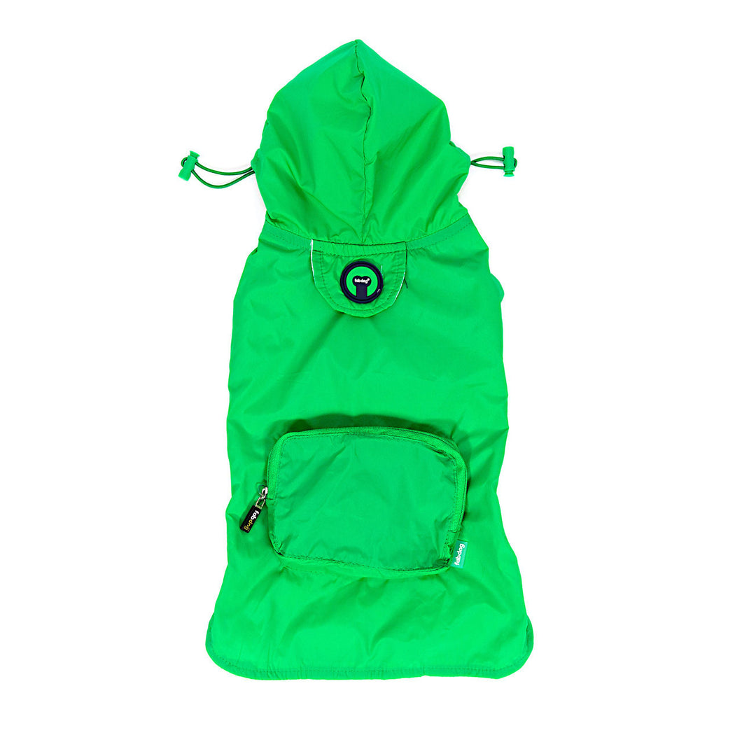 Green Raincoat Pac a Mac