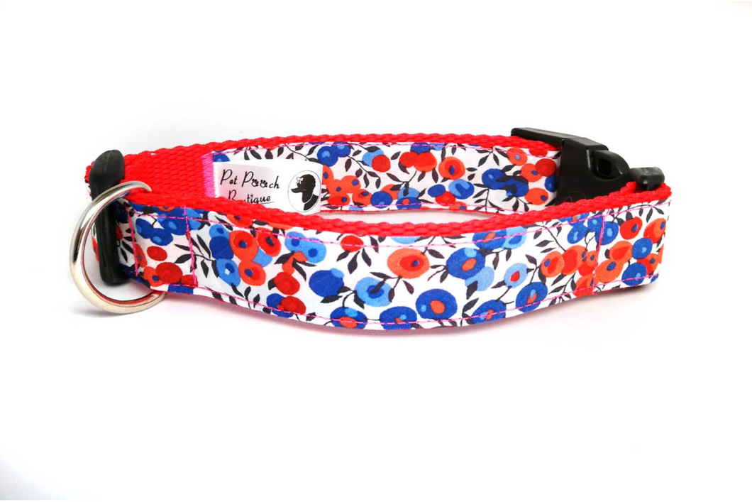 Liberty Poppins Rose Collar