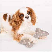 Load image into Gallery viewer, Squeaky Bone toy by Mutts & Hounds: Mushroom