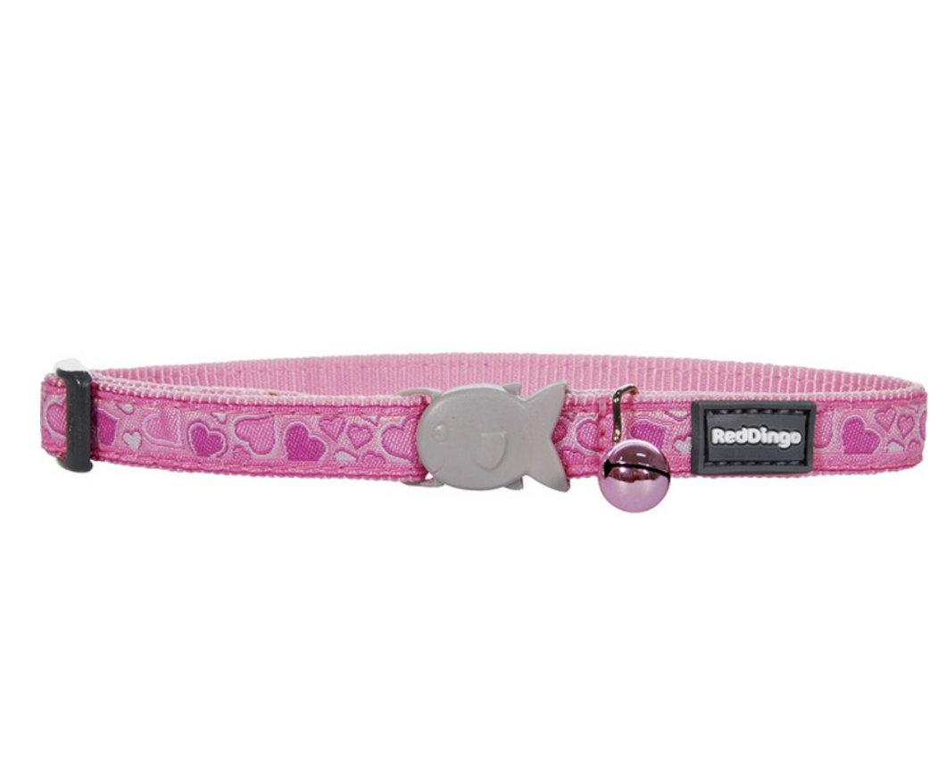 Breezy Love Pink Cat Collar by Red Dingo