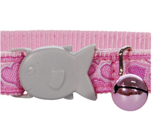 Load image into Gallery viewer, Breezy Love Pink Cat Collar by Red Dingo