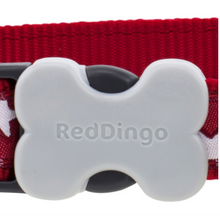 Load image into Gallery viewer, Red & White Stars Collar by Red Dingo