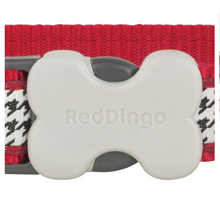 Load image into Gallery viewer, Dogtooth Dog Collar by Red Dingo: Red