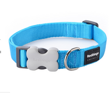 Load image into Gallery viewer, Classic Dog Collar by Red Dingo: Turquoise