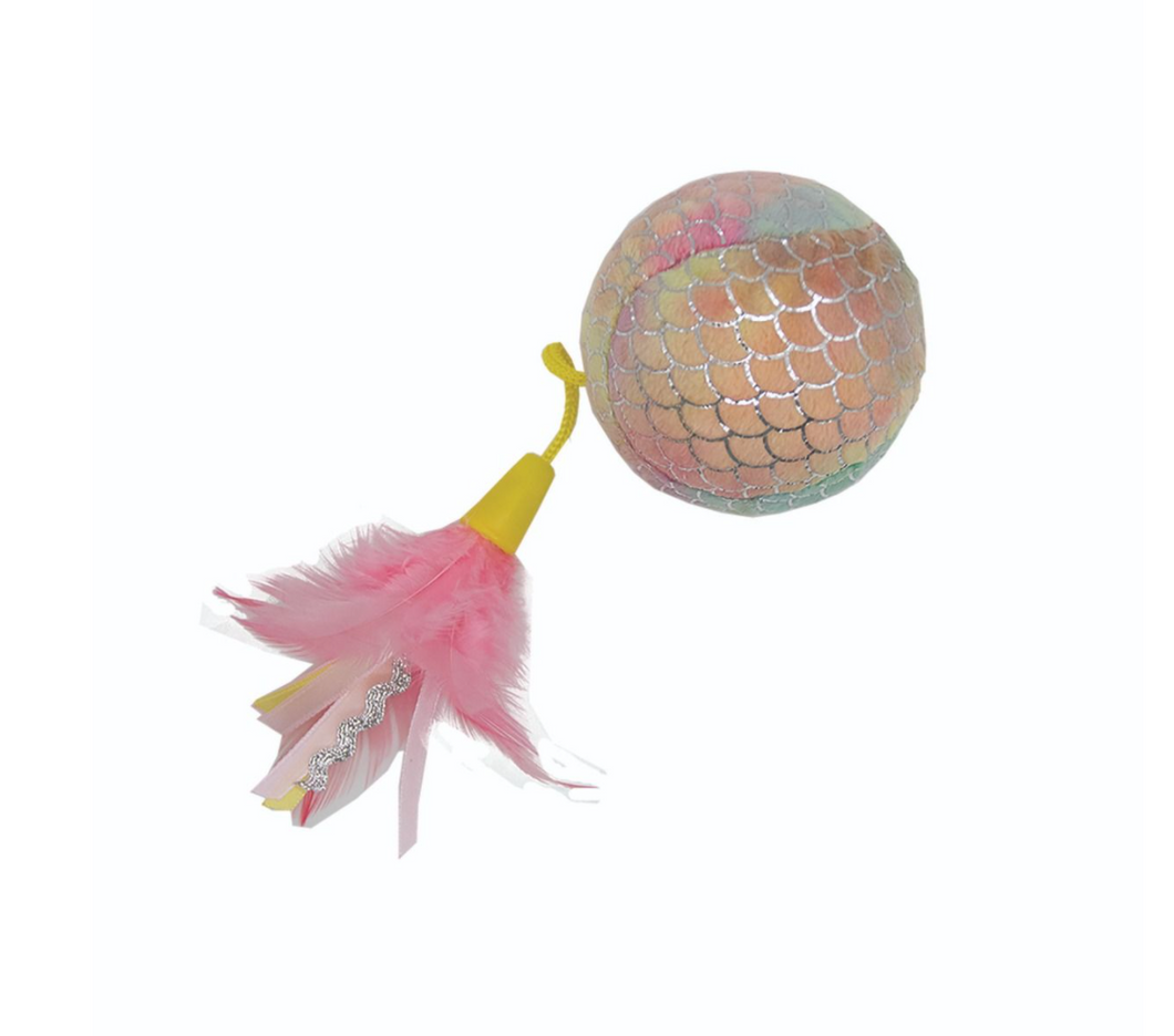 Mermaid Pink Giant Ball Cat Toy