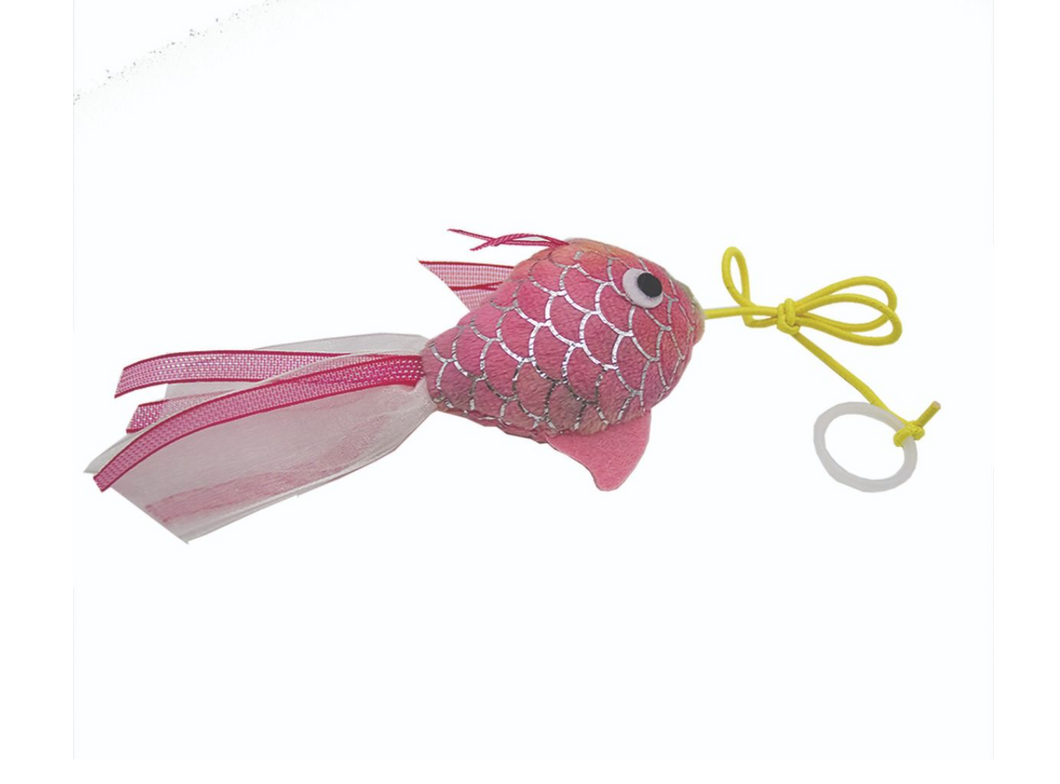Mermaid Goldfish Cat Toy: 2 Colours