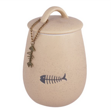 Load image into Gallery viewer, Sandstone Cat Treat Jar