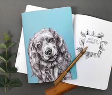 Load image into Gallery viewer, Cocker Spaniel Notebook