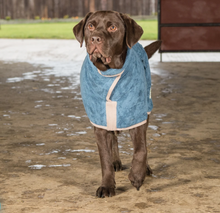 Load image into Gallery viewer, Sandringham Blue Drying Coat By Ruff And Tumble