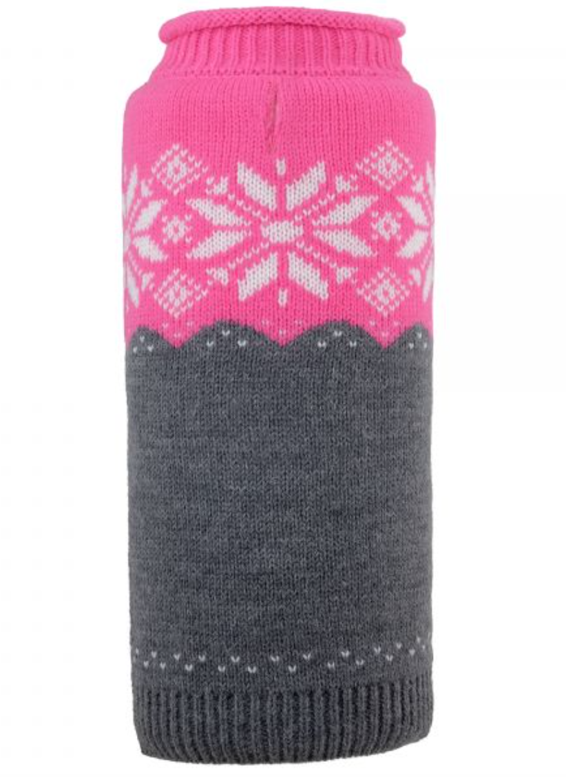 Ski Lodge Jumper: Fuchsia