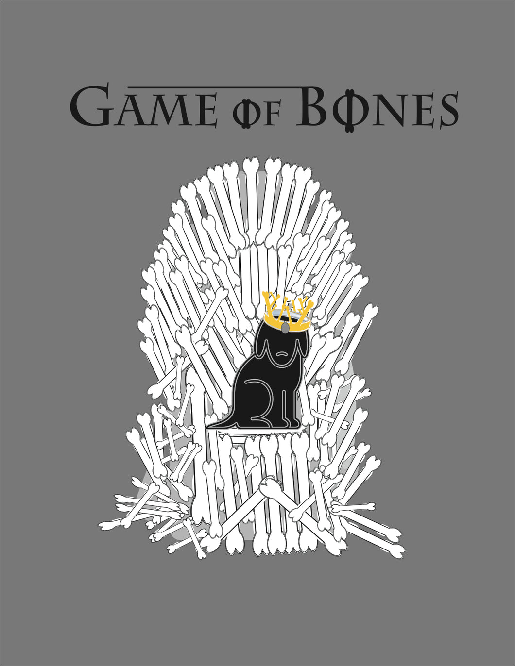Game of Bones Stand-Up Art Print