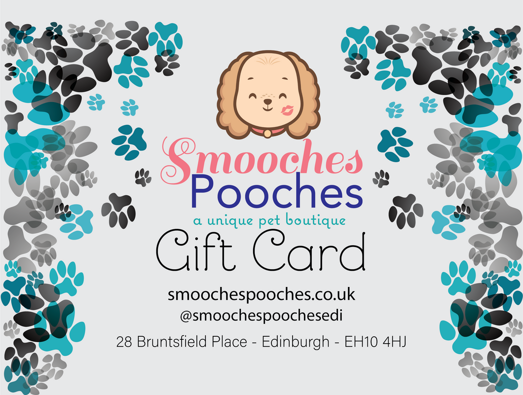 Smooches Pooches Gift Card