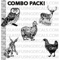 Animal Favourites Combo Pack