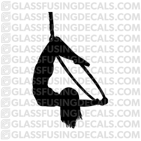 Aerials - Hoop/Lyra 3 - Glass Fusing Decal for Glass or Ceramics
