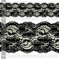 Lace Ribbon 9""