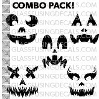 Pumpkin Faces Combo Pack