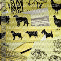Glass Fusing Decals Sample Pack