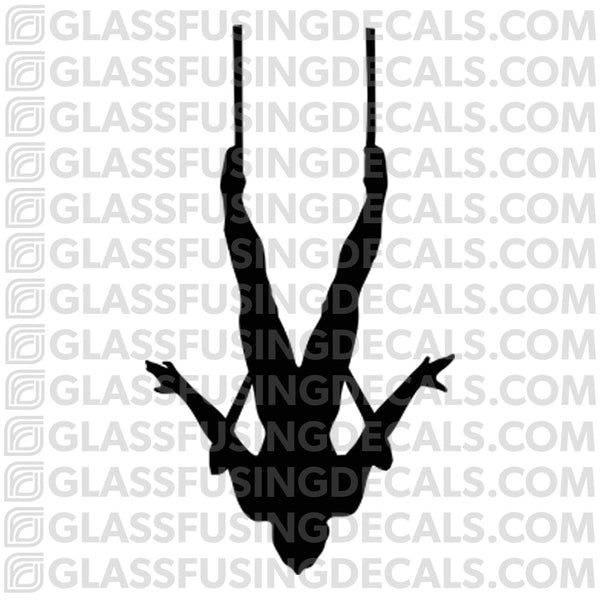 Aerials - Trapeze 1 - Glass Fusing Decal for Glass or Ceramics