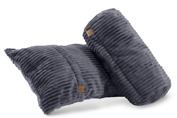 Comfyzak pillows - set-corduroy-flint