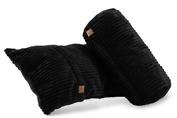 Comfyzak pillows - set-corduroy-black