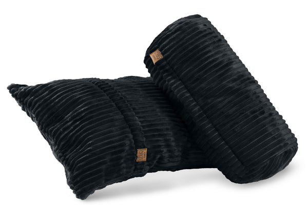 Comfyzak pillows - set-corduroy-charcoal