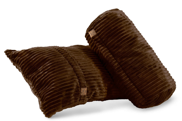 Comfyzak pillows - set-corduroy-maple