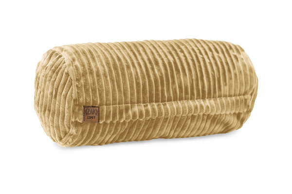 Comfyzak pillows - neck-roll-corduroy-beige