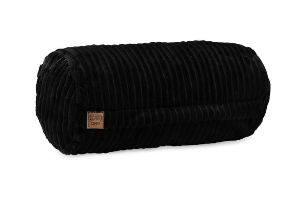 Comfyzak pillows - neck-roll-corduroy-black