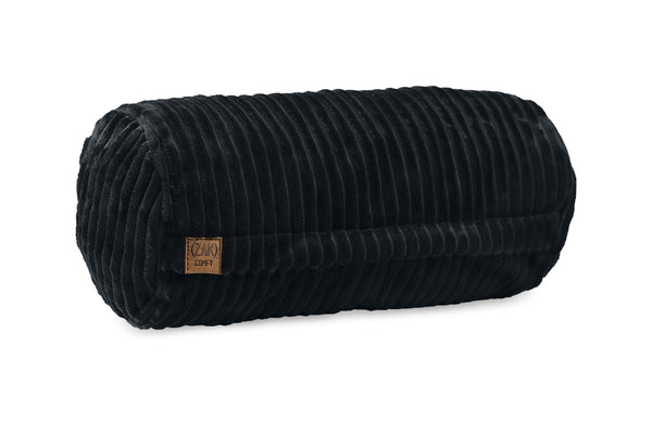 Comfyzak pillows - neck-roll-corduroy-charcoal