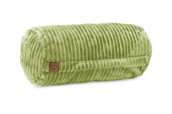 Comfyzak pillows - neck-roll-corduroy-lime
