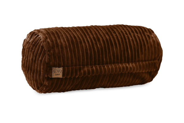 Comfyzak pillows - neck-roll-corduroy-maple