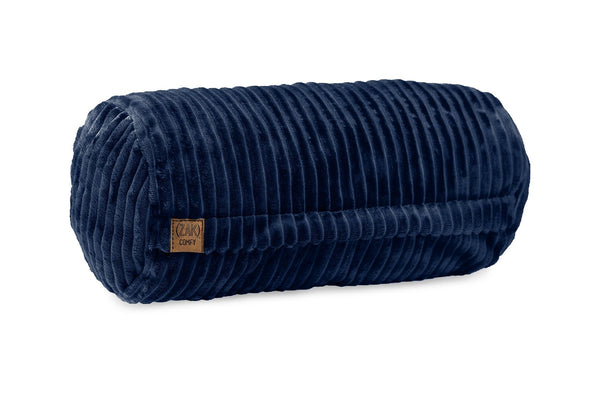 Comfyzak pillows - neck-roll-corduroy-royal-blue