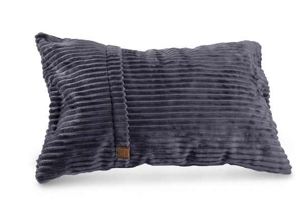 Comfyzak pillows - throw-corduroy-flint