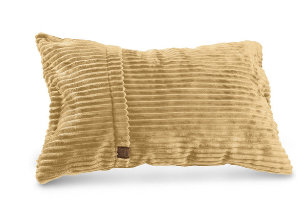 Corduroy Rectangle Pillow - Beige
