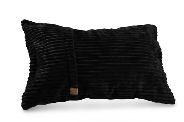 Comfyzak pillows - throw-corduroy-black