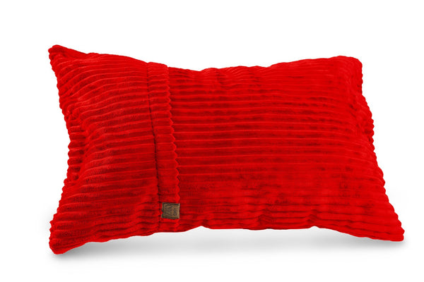 Comfyzak pillows - throw-corduroy-flame-red