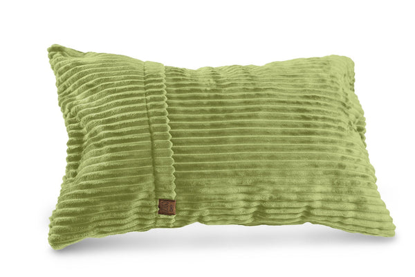 Comfyzak pillows - throw-corduroy-lime