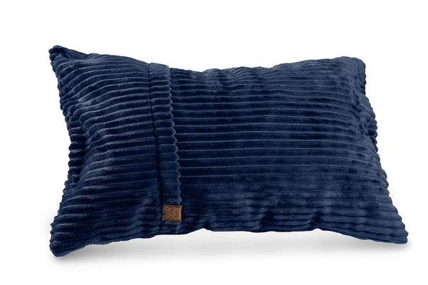 Comfyzak pillows - throw-corduroy-royal-blue