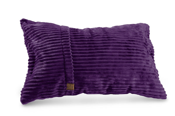 Comfyzak pillows - throw-corduroy-royla-purple
