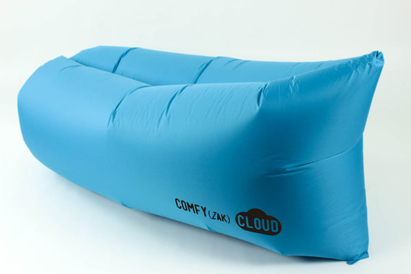 Comfyzak CLOUD air lounger - Pool Blue