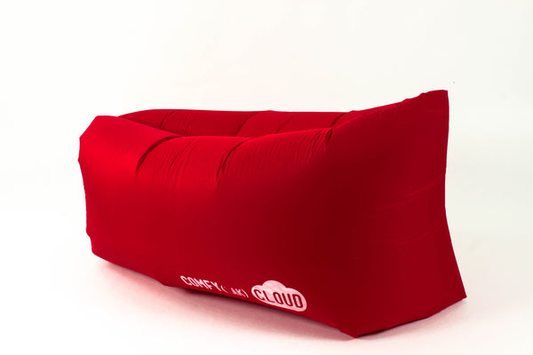 Comfyzak CLOUD air lounger - Red