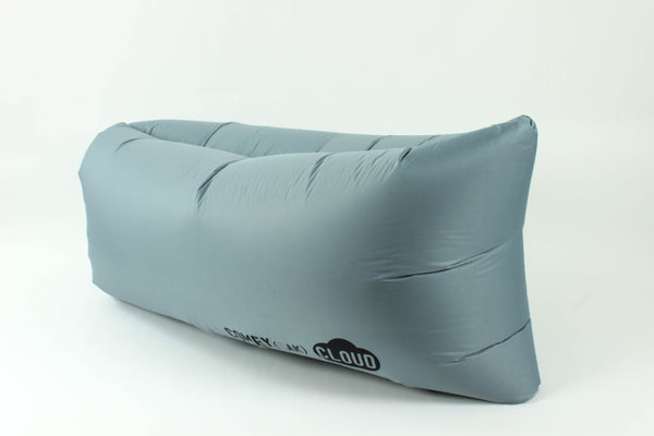 Comfyzak CLOUD air lounger - Charcoal