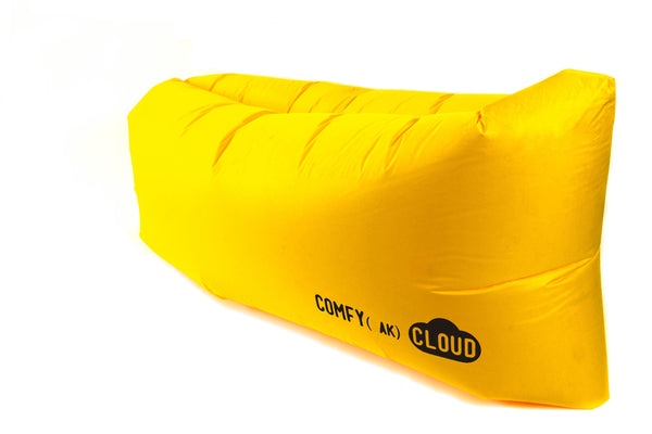 Comfyzak CLOUD air lounger - Yellow