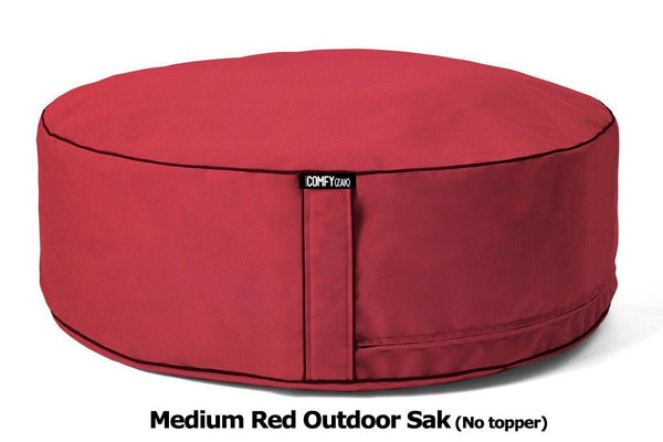OutdoorBeanbag - Weather-proof Comfyzak RED