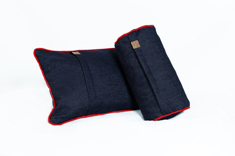 Comfyzak-Pillows-Set-Denim-Red