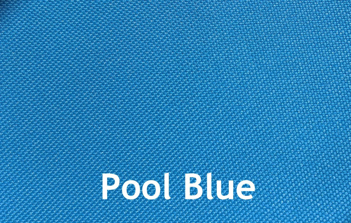 Outdoor Beanbag - pool blue