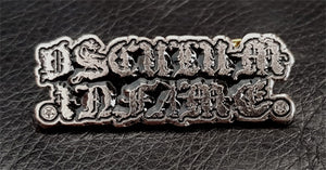"OSCULUM INFAME ""LOGO"" METAL BADGE PIN"