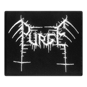 "PURGE ""LOGO"" EMBROIDERED PATCH"