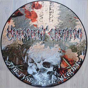 "Malevolent Creation ""The Fine Art Of Murder"" LP - Picture Disc"