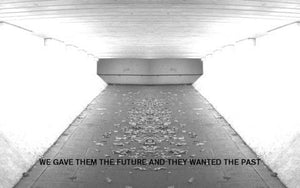"VARIOUS ARTISTS ""WE GAVE THEM THE FUTURE AND THEY WANTED THE PAST"" TAPE"